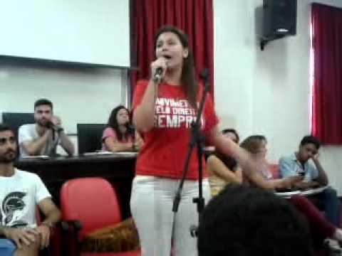 Debate das chapas candidatas ao CACO 03/11/14 parte 1