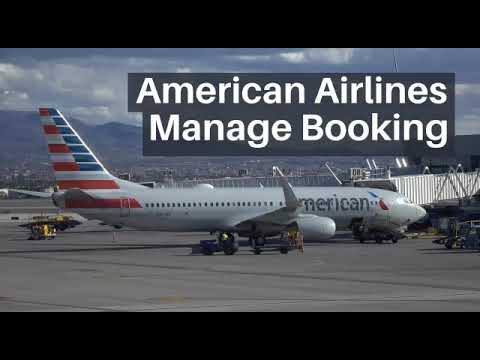 American Airlines Manage Booking   Rebooking Flight