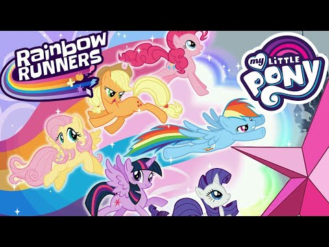 My Little Pony Rainbow Runners - ALL Ponies FULL Walkthrough - Apps for Kids