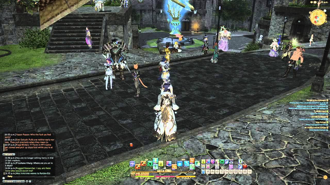 how to play final fantasy online