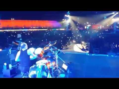 Sad but true Stage Palco Metallica rock in Rio Brasil 2015