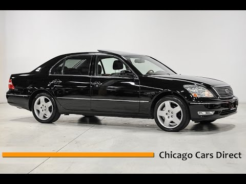 chicago cars direct reviews presents a 2005 lexus ls 430. Black Bedroom Furniture Sets. Home Design Ideas