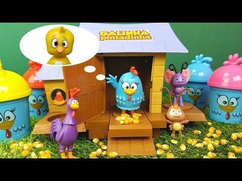 Procurando o Pintinho Amarelinho da Galinha Pintadinha Tia Fla Kids