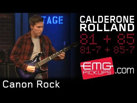 """Cole Rolland Performs """"Canon Rock"""" Featuring E Rock On EMGtv"""