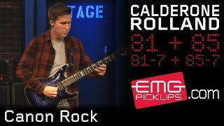 "Cole Rolland performs ""Canon Rock"" featuring E Rock on EMGtv"