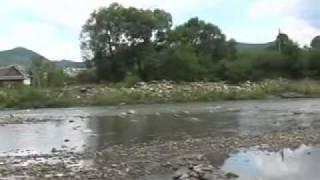 Карпаты - ласковое лето(Дощ в Карпатах, ріка Прут, Микуличин та присілок Полумистий. Відпочивали в садибі