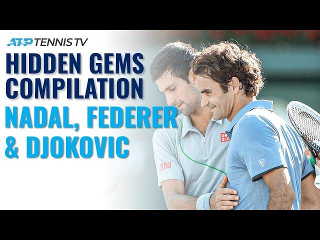 20 Amazing Federer, Nadal & Djokovic Shots You've (Probably) Never Seen Before
