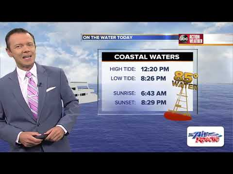 Florida's Most Accurate Forecast with Greg Dee on Sunday, July 14, 2019
