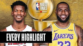 EVERY HIGHLIGHT From The 2020 NBA Finals 🏆