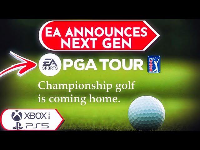 Ea Sports Pga Tour Announced Next Gen Golf Game Youtube