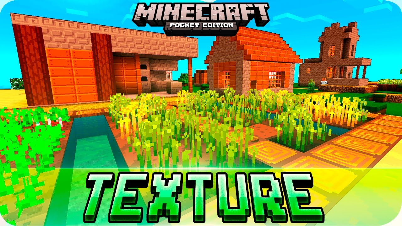 Minecraft PE - Dandelion 16x16 Texture Pack for iOS & Android - MCPE 1 0 /  0 17 0