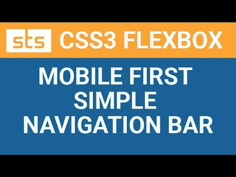 Simple Responsive Navigation Menu Bar with Logo on Left Using HTML5 and  CSS3 Flexbox - Tutorial