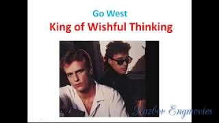 The King of wishful thinking. Песня из фильма