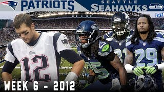The Legion of Boom is Born Against Brady! (Patriots vs. Seahawks, 2012)