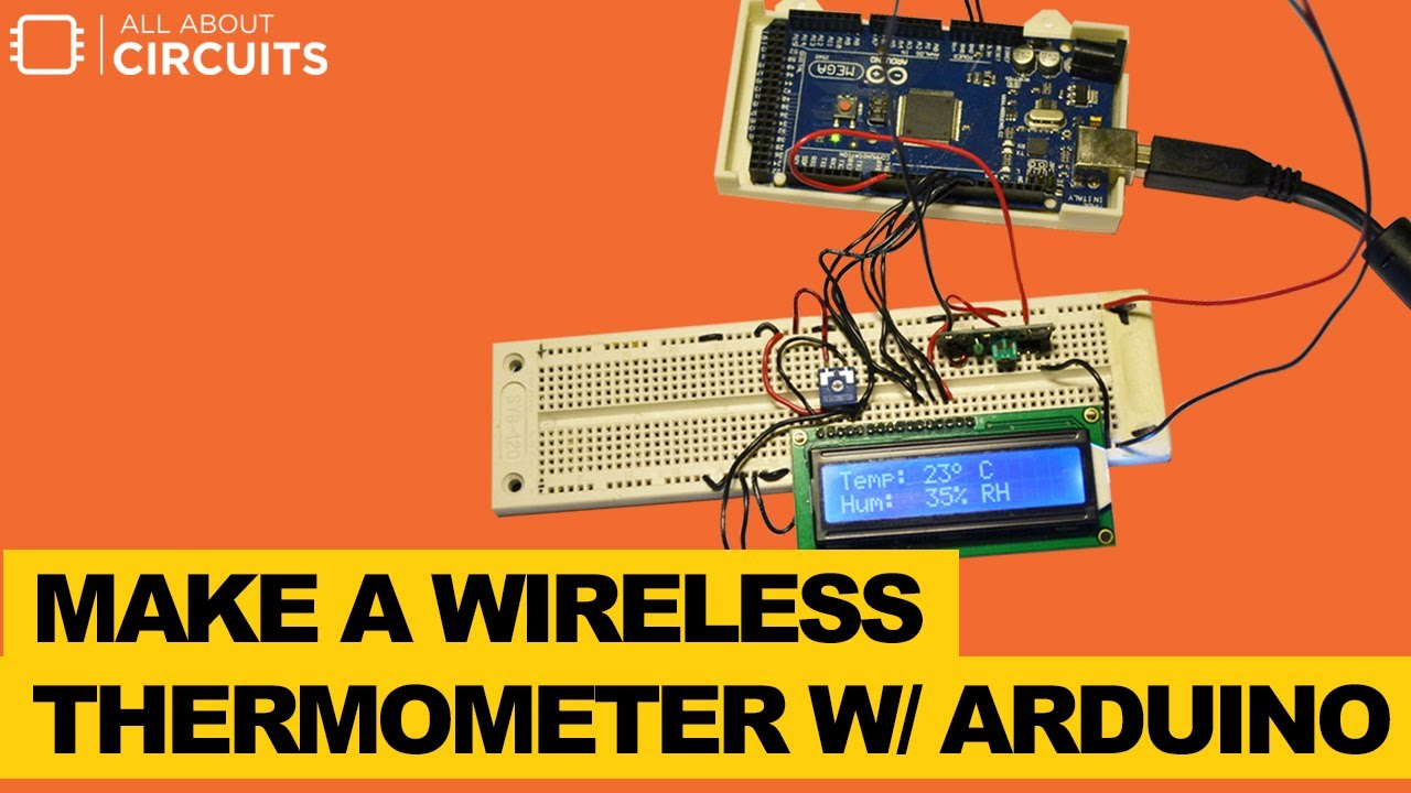 Wireless Thermometer With Arduino and ATMega 328P