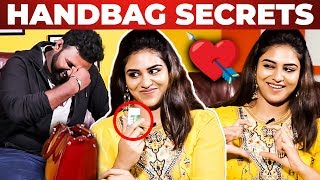Singappenney Indhuja's Handbag Secrets Revealed By VJ Ashiq | What's Inside the Handbag?
