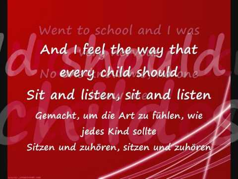 Gary Jules - Mad world(LYRICS+üBERSETZUNG)