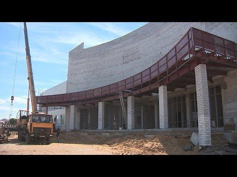 В Урюпинске готовится к открытию дворец культуры