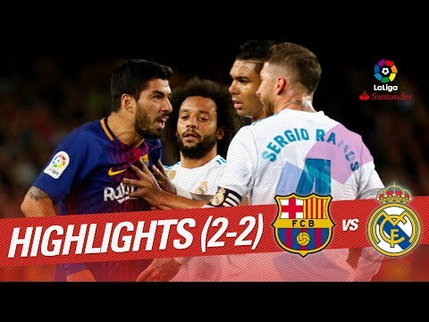 Resumen de FC Barcelona vs Real Madrid (2-2)