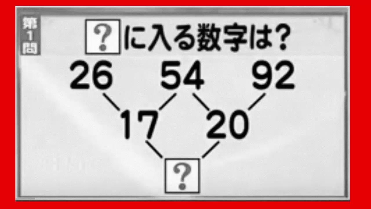 難しい iq テスト