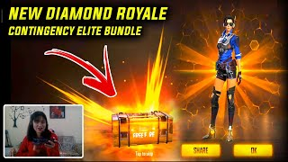 NEW Diamond Royale - Contingency Elite Bundle - Free Fire