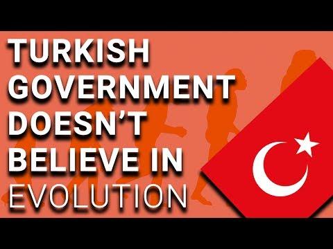 Turkey Bans Teaching of Evolution in Schools