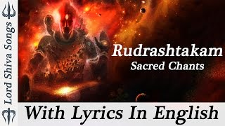 """Shiva Rudrashtakam Stotram"" Shiva Stotram Powerful || Shiva Rudrastakam With Lyrics ( Full Songs )"