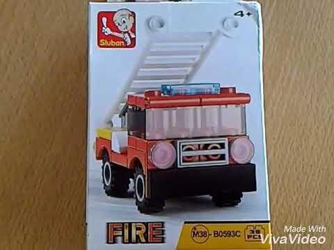 Self Assemble Fire Truck Part 01