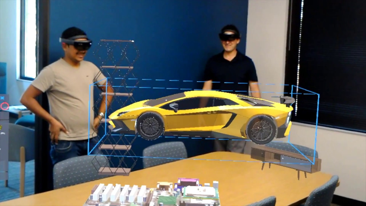 3D Model Viewer | Multi-user HoloLens and VR Application for Engineering  Design Collaboration