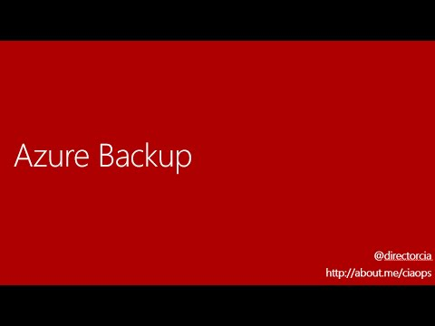 Overview of Azure Backup