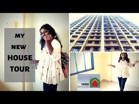 My New Small 1 BHK House Tour In Mumbai | MHADA Lottery 2018