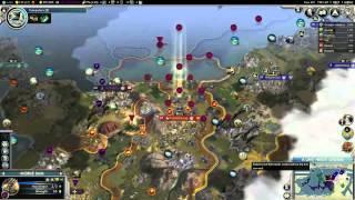Let's Play Civilization V: G&K - Korea #10b: A Space Race!