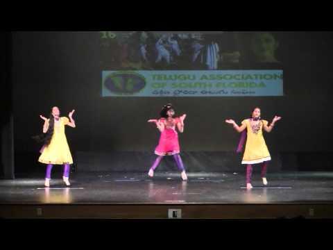 TASF Nov 2014 - Kokilamma Dance by Kaavya, Anjali & Nandika