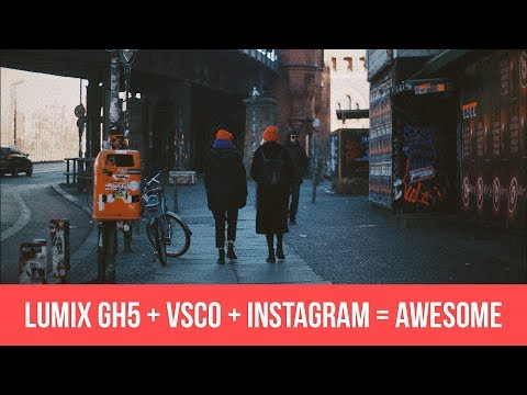 CREATING AMAZING INSTAGRAM CONTENT USING THE LUMIX GH5