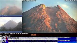 Mt Merapi - 18/09/2019 05:32 WIB