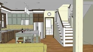 Unique craftsman home design with open floor plan - Stillwater Craftsman