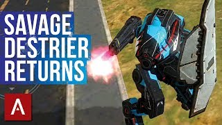 SAVAGE Destrier Returns - Funny Builds Friday Ep.18 | War Robots Funny Gameplay