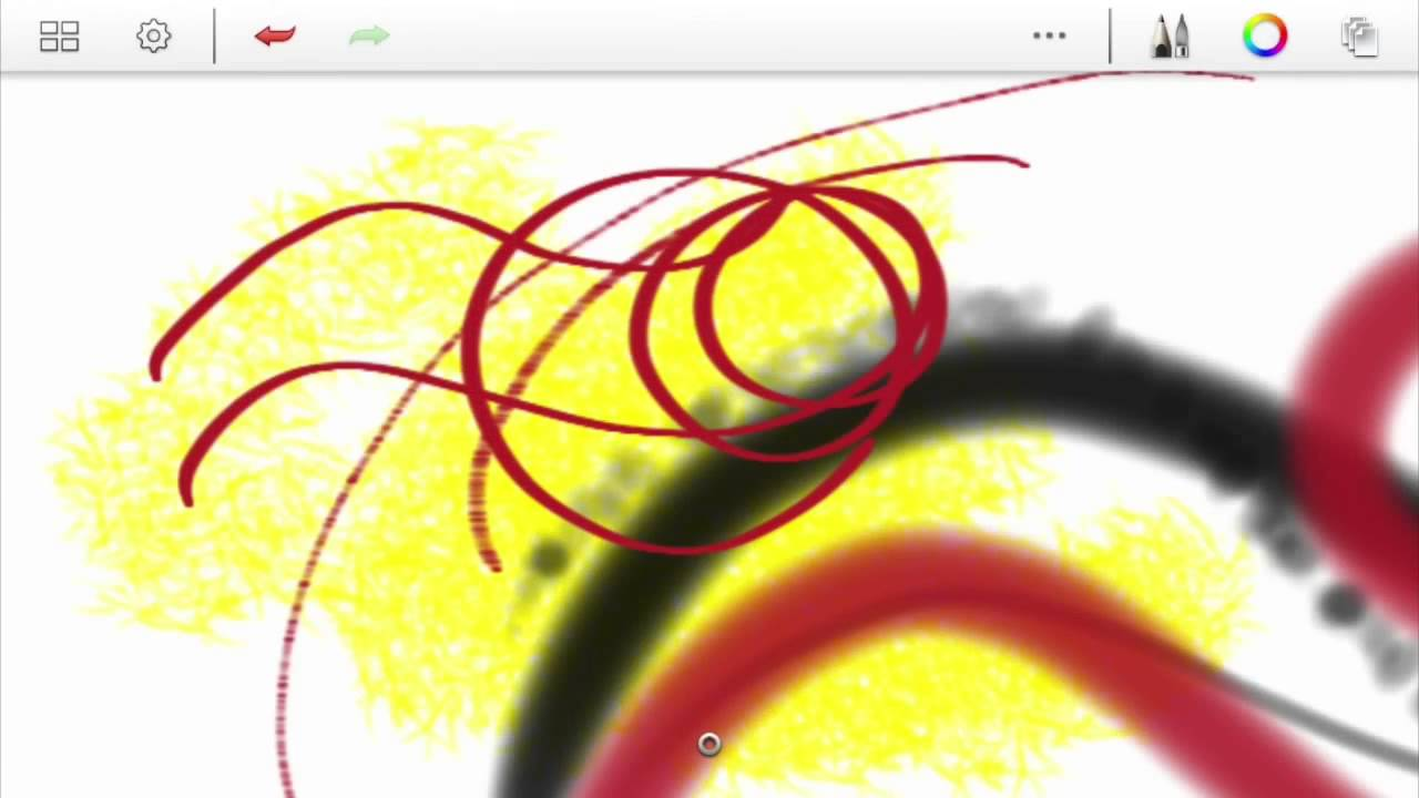 How to use Autodesk Sketchbook Android - Part 2