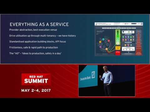 Pat Healey, Deutsche Bank, at Red Hat Summit 2017: Technology transformation