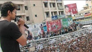 Vijay fans express their love - fun and must watch ..