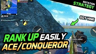 RELIABLY RANK TO ACE/CONQUEROR WITH THIS STRATEGY - PUBG Mobile
