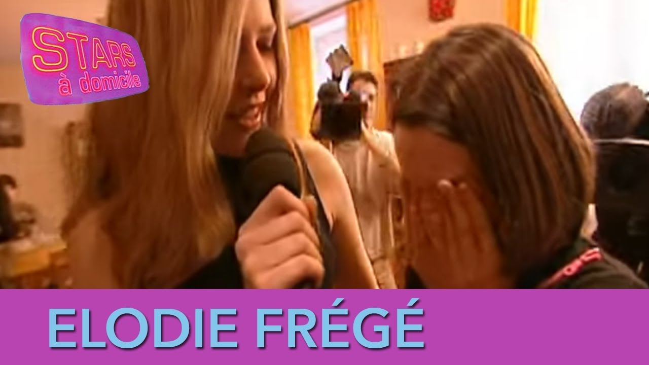 Elodie Frégé surprend une fan ! - Stars à domicile
