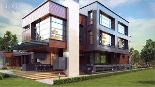 Проект дома с террасой (Видеообзор)