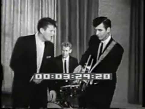 Ronnie Hawkins with Levon Helm, 1959 (Canadian after school TV show)