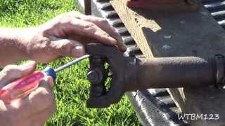 Changing a U Joint, or Universal Joint, in a Drive Shaft