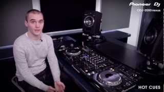 CDJ-2000nexus Hot Cues Tutorial
