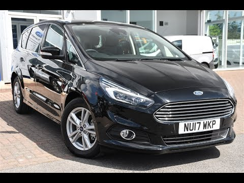used ford s max 2 0 tdci 150 titanium 5dr shadow black. Black Bedroom Furniture Sets. Home Design Ideas