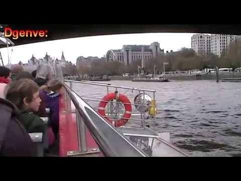 City Cruises: Tower Millennium Pier To Westminster Pier Shortened Video.
