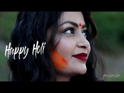 HAPPY HOLI | Artist Rakshit Dutta | Vidhi Bhargava |
