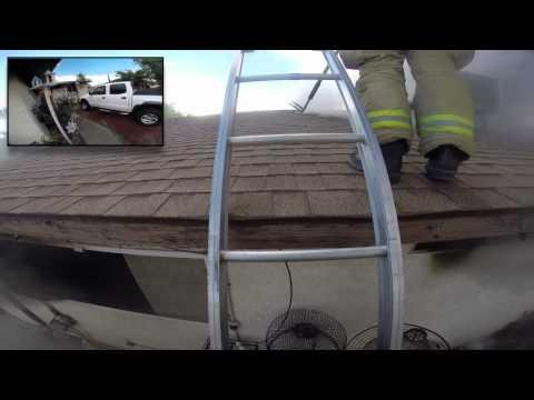 La Paz Dr Structure Fire, Victorville